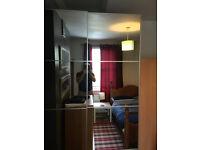 Sliding doors mirror wardrobe