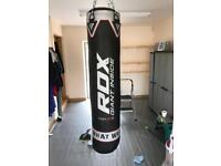RDX boxing bag with gloves