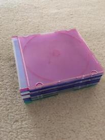 9 Blank CD Cases
