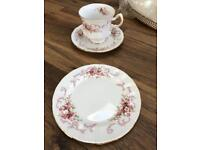 Rose Bouquet China Tea Set (Paragon) NEW