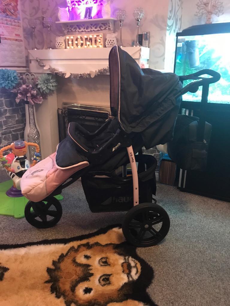 Hauk Viper Slx3 Baby Girl Buggy In Kirkcaldy Fife Gumtree