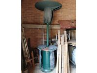 Outback Outdooor Patio heater c/w Gas Bottle