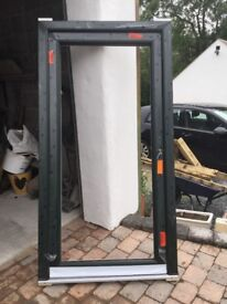 PVC door frame