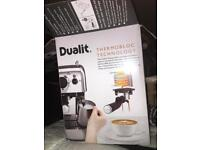 Dualit Coffee Machine RRP £200 - Brand New All parts included - Selling for Parts