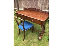 Solid Wood Dresser/Writing Table