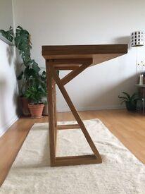 Habitat Heath 2-4 seat oak folding table