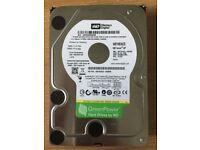 Western Digital Caviar 1TB 3.5 inch Hard Disk Drive - very good condition