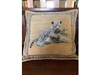 Luxury chenille cushion