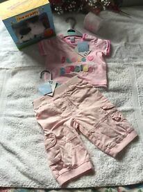 New boy and girl clothes and other items