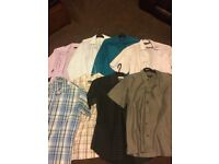BUNDLE OF MENS SUITS FROM SLATERS SIZE 32 INCH WAIST