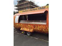 food trailer | catering van | burger van | steak | new business amazing bargain