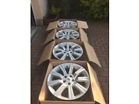 "UPDATE - Price Reduced - GENUINE RANGE ROVER SPORT / DISCOVERY 20"" STORMER ALLOY WHEELS"