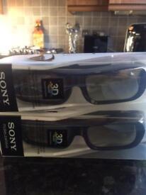 3D Glasses Sony Bravia