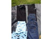 Next ladies clothes bundle size 6, 5 items jeans petite, top dress
