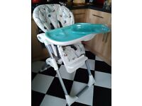 Joie high chair - excellent condition