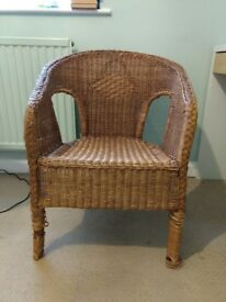 FREE Wicker Arm Chair FREE