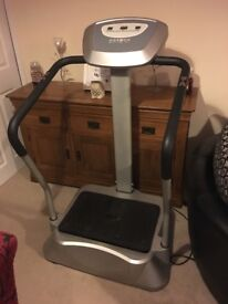 Vibration training machine