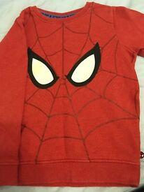 Spider-man jumper size 3-4