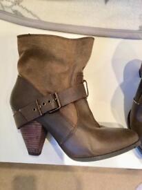 Brown Zara boots