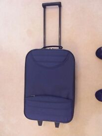 Pull along suitcase