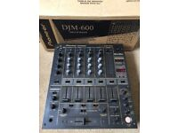 Pioneer DJM 600 Mixer With Original Box