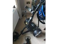 Powakaddy FW3s lithium electric trolley immaculate
