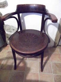 Vintage Bentwood Thornet Chair