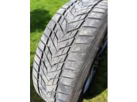 4 X Winter Tyres with Alloy Wheels Land Rover Discovery Sport Evoque 8