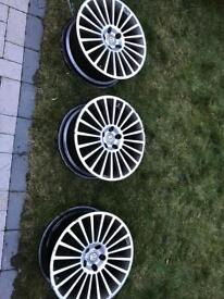 X3 alloy wheels