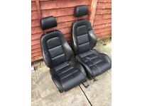 Aldi tt seats heated black leather