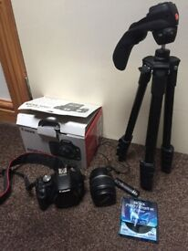 Canon EOS 40D With Canon 28-90mm Lens memory card and