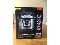 Electric Multi Cooker, still boxed, never used.