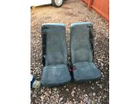 Twin seat , will fit in rear for van