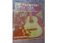 THE FOLKSINGER'S GUITAR GUIDE. Based on the Folkways Record by PETE SEEGER.