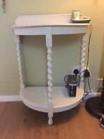 Vintage telephone / console table