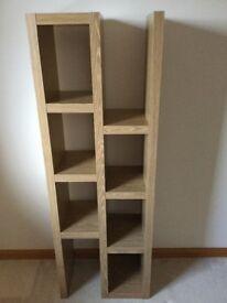 Oak Shelf unit.