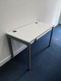FREE SAME-DAY DELIVERY - White Office Desk 1200mm by 600mm