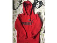 Boys puma hoodies