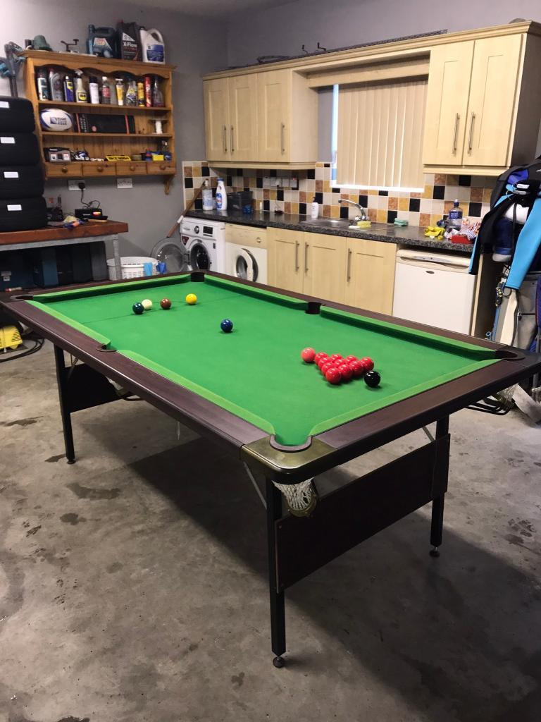 Snooker Table X In Moneymore County Londonderry - 3 1 2 x 7 pool table