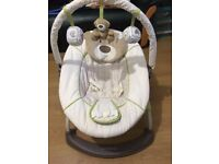 Mother care baby swing is available for sale in good condition