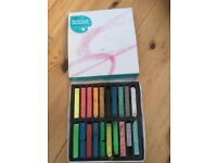 20 assorted soft pastels, virtually new. used once. £2.50