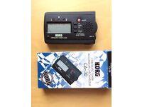 Korg hands-free chromatic tuner CA-30