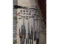 30 odd golf clubs mixed makes mostly mid irons
