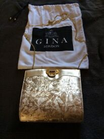 Beautiful Ladies Gold Effect Gina Handbag