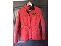 Women's Barbour International Jacket size 12