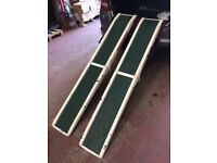 PAIR OF JET MARINE RAMPS FOR WHEELCHAIR