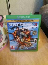 Xbox one game. Just cause 3