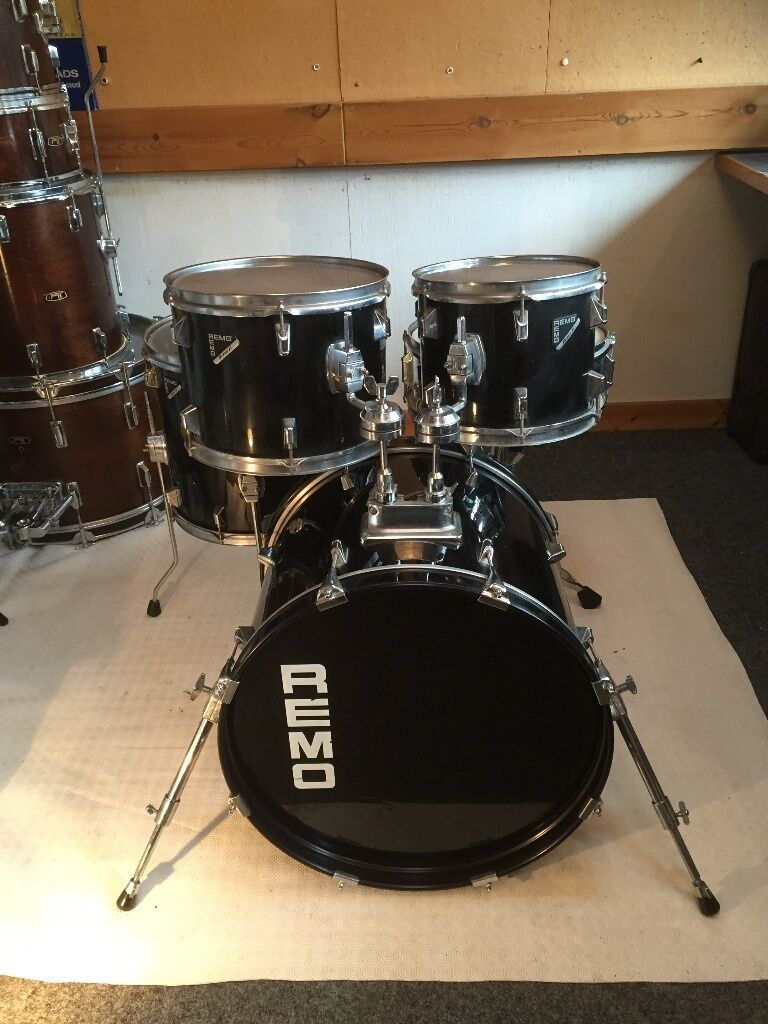 remo drum kit jazz drum kit in chelsea london gumtree. Black Bedroom Furniture Sets. Home Design Ideas