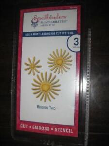 Spellbinders Shapeabilities Die D-Lites Bloom Two for Die Cut Machine. Create Beautiful embossed Die Cut
