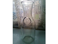 Vintage Embossed Paul Mason Since 1852 Glass Milk Bottle